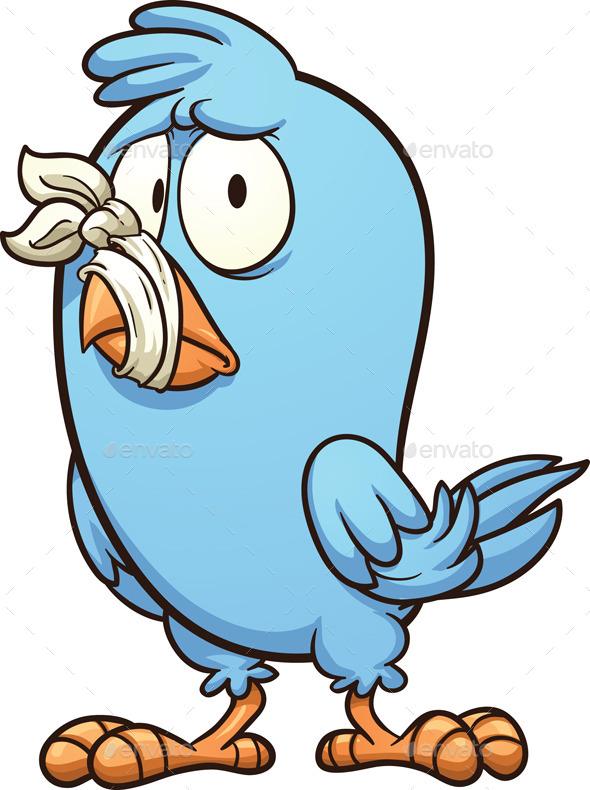 GraphicRiver Mute Bird 9728053