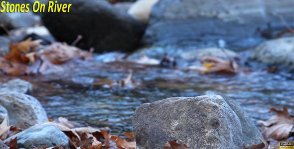 Stones On River
