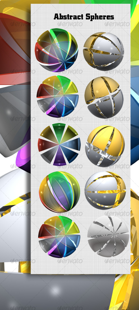 GraphicRiver Abstract Spheres 123781