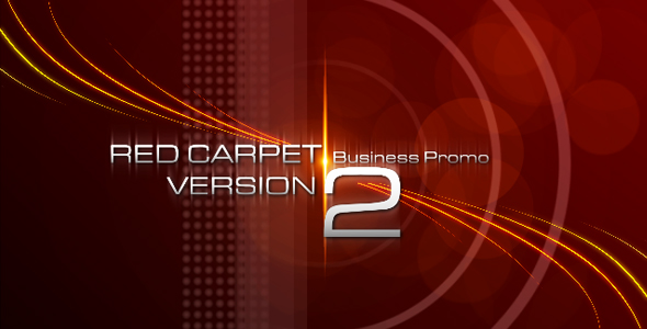 After Effects Project - VideoHive RED CARPET VERSION 2 Business Promo 123809
