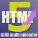 HTML5 AJAX Multi uploader