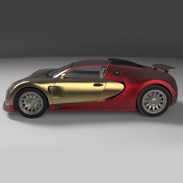 3DOcean Concept Car 2006 BUGATTI 16.4 EB VEYRON 9731386