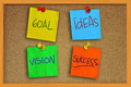 Goal, Ideas, Vision and Success - PhotoDune Item for Sale