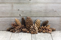 Christmas vintage decoration with pine cones - PhotoDune Item for Sale