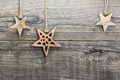 Christmas decoration on wooden board - PhotoDune Item for Sale