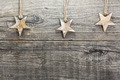 Christmas star on weathered wooden board - PhotoDune Item for Sale