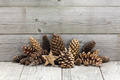 Christmas ornaments on wood - PhotoDune Item for Sale