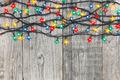 Festive Christmas lights - PhotoDune Item for Sale