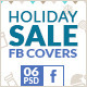 Christmas Holiday Sale Facebook Timeline Cover - GraphicRiver Item for Sale