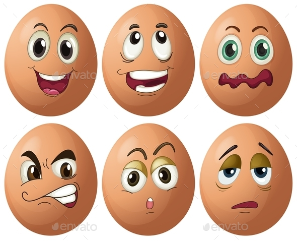 GraphicRiver Egg Expressions 9735135