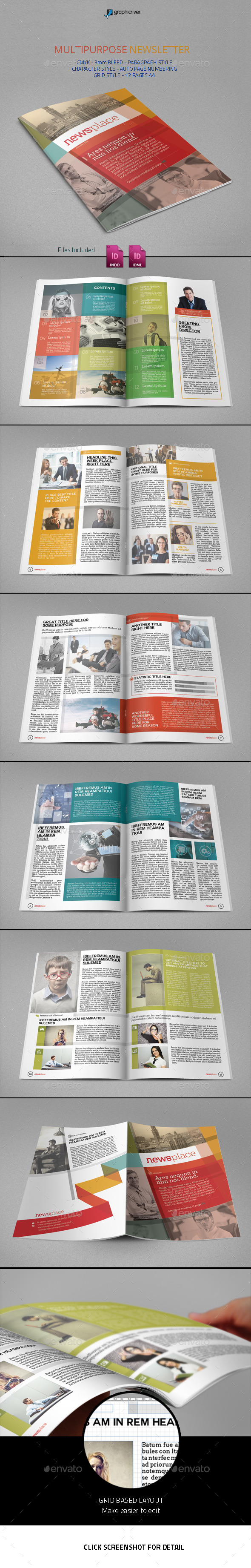 GraphicRiver Multipurpose Newsletter 9735754