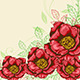 Background with Red Flowers  - GraphicRiver Item for Sale