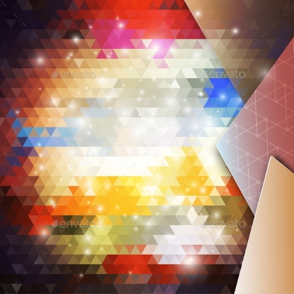 GraphicRiver Abstract Colored Background 9736033