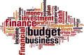 Budget Word Cloud Concept - PhotoDune Item for Sale