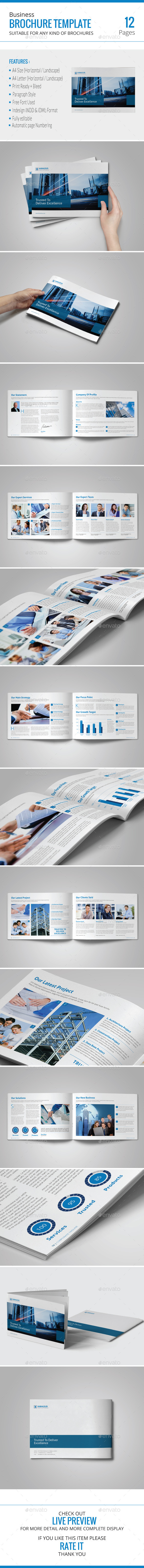 GraphicRiver Business Brochure Template 9736062