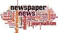 Newspaper Word Cloud Concept - PhotoDune Item for Sale
