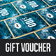 Winter Ice Gift Voucher - GraphicRiver Item for Sale