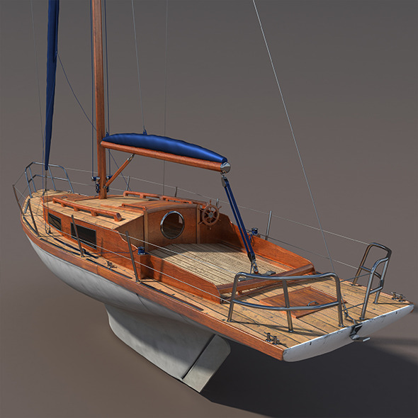 3DOcean Sailboat 9736733