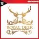 Royal Deer Logo - GraphicRiver Item for Sale