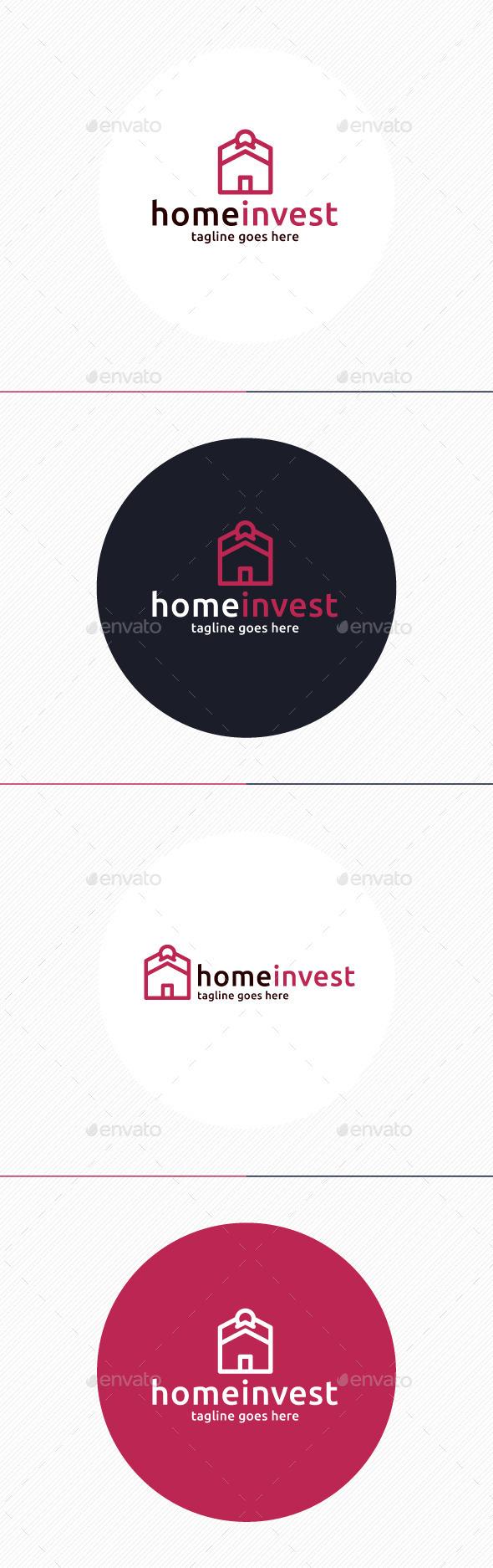 GraphicRiver Home Invest Logo 9737264