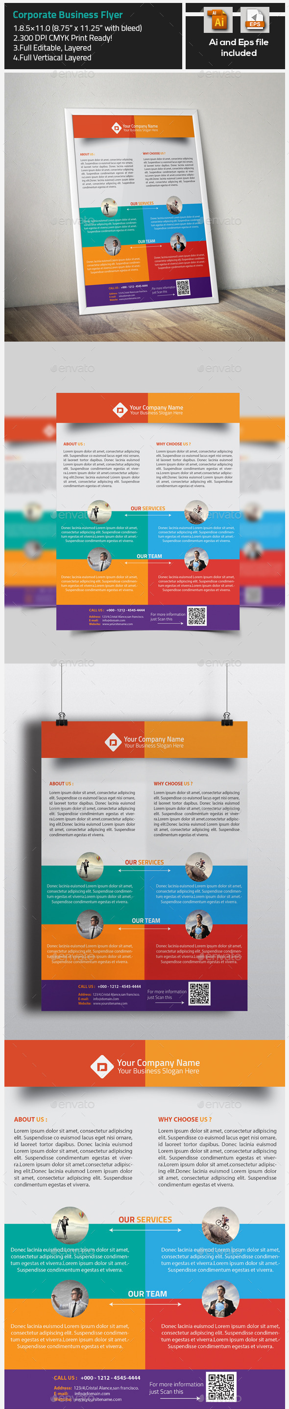 GraphicRiver Corporate Creative Business Flyer 9737669