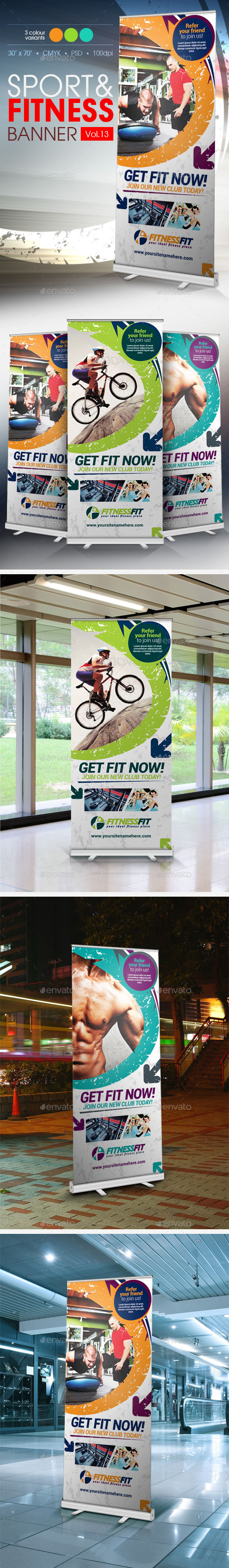 GraphicRiver Fitness Banner Vol.13 9738068
