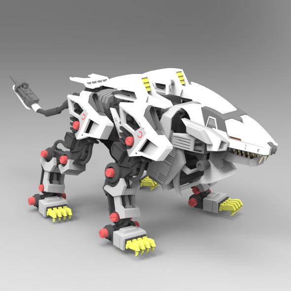 3DOcean Liger Zero 9738095