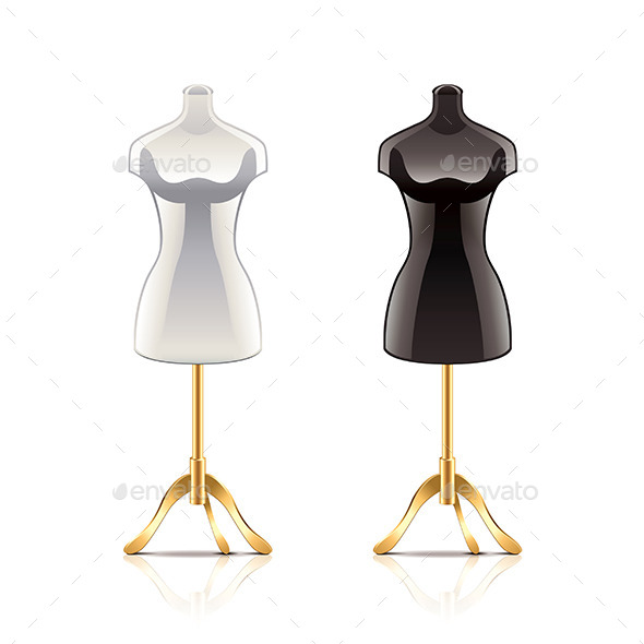 GraphicRiver Mannequins 9738278