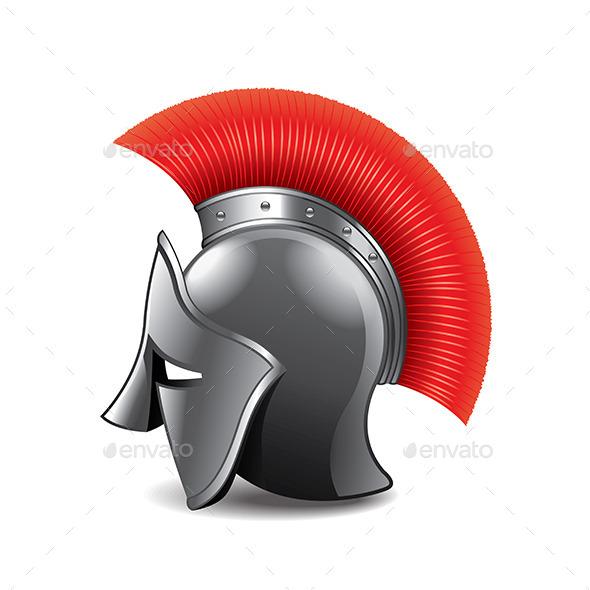 GraphicRiver Roman Helmet 9738284