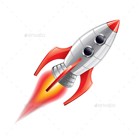 GraphicRiver Rocket 9738286