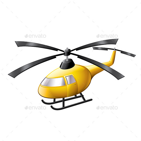 GraphicRiver Helicopter 9738288