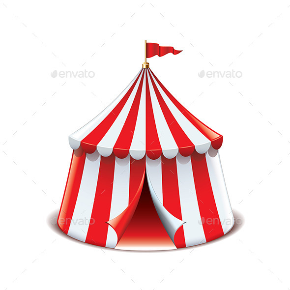 GraphicRiver Circus Tent 9738294
