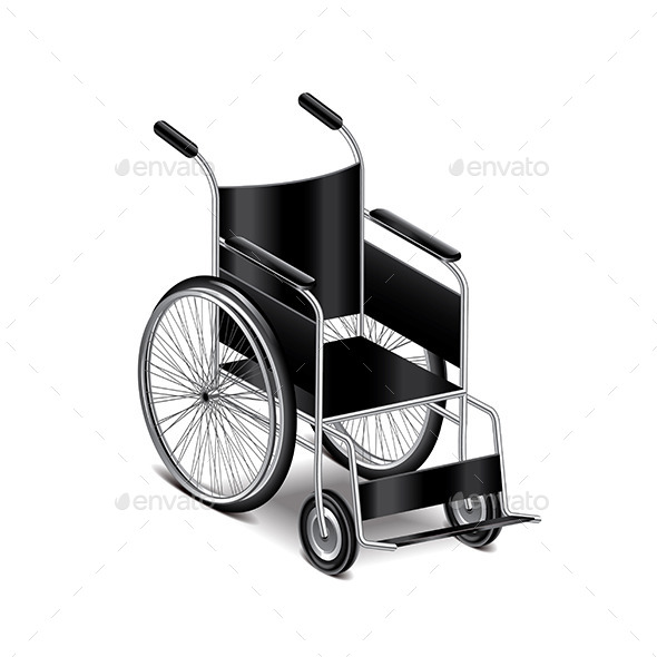 GraphicRiver Wheelchair 9738321