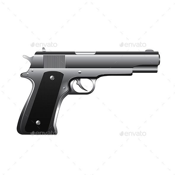 GraphicRiver Gun 9738322