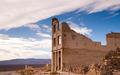 Bank Building Ruins of Rhyolite Nevada Death Valley Ghost Town - PhotoDune Item for Sale