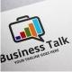 Business Talk Logo - GraphicRiver Item for Sale