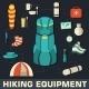 Tourist Equipment  - GraphicRiver Item for Sale