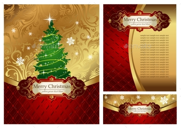 GraphicRiver Classic Christmas Tree 9738952