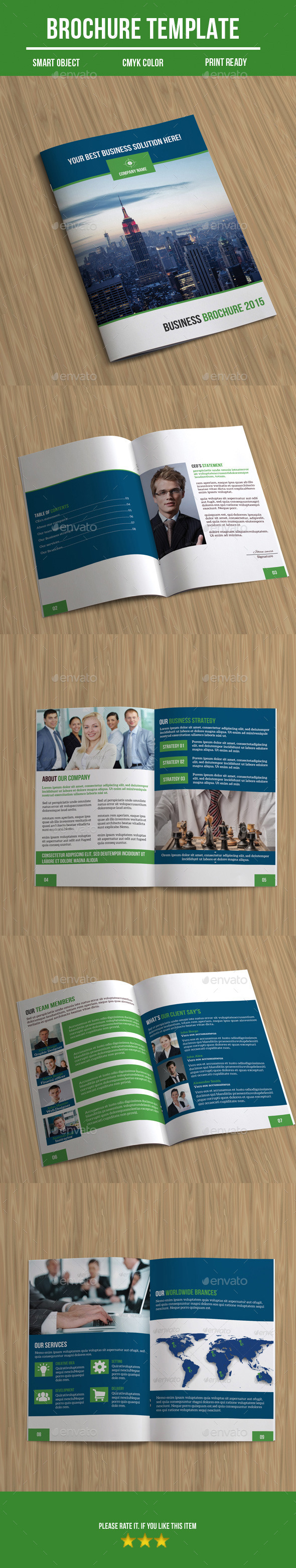 GraphicRiver Business Brochure 9739146