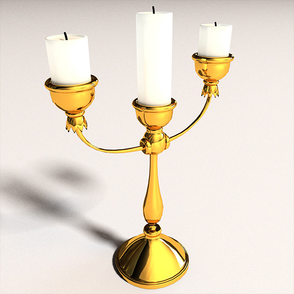 Candlestick - New AnD Used - 3DOcean Item for Sale