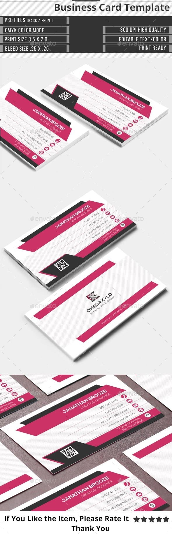 GraphicRiver Elegant corporate Business Card 9739371