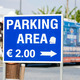 Parking sign in - PhotoDune Item for Sale