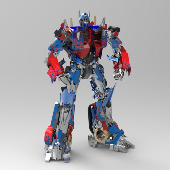 Optimus Prime - 3DOcean Item for Sale