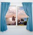 sea sunset from the window - PhotoDune Item for Sale