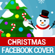 Flat Christmas Facebook Cover - GraphicRiver Item for Sale