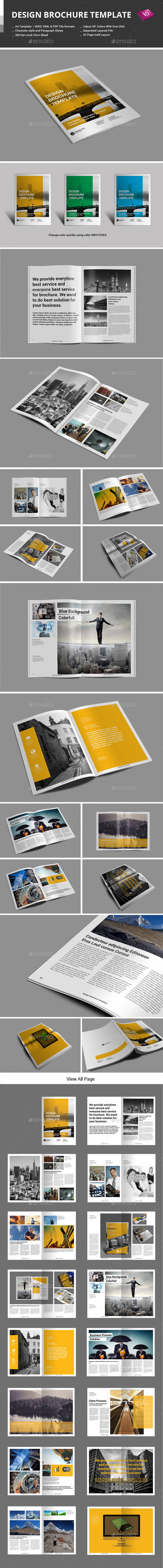 GraphicRiver Design Brochure Template 9739419