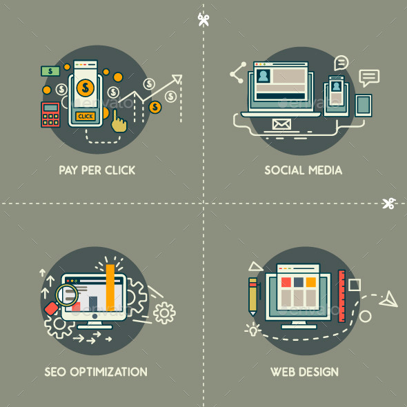 GraphicRiver PayPerClick Social Media Web Design SEO 9739645