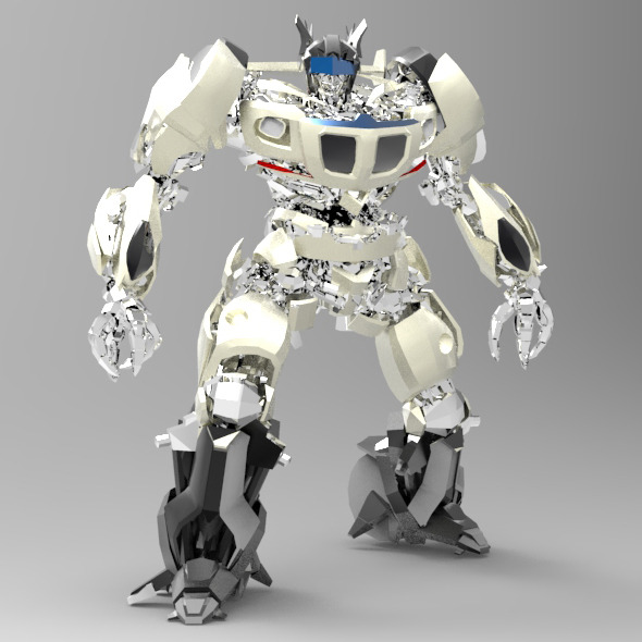 Autobot G1 Jazz - 3DOcean Item for Sale