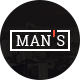 MAN'S - Design online-store for man