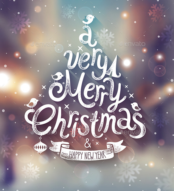 GraphicRiver Christmas Poster 9739857